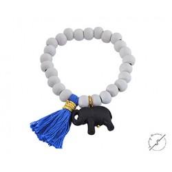 Βραχιόλι χειροποίητο boho Elephant  BH0029
