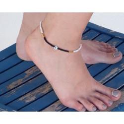 Βραχιόλι ποδιού / Anklet bracelet Eye AB0002