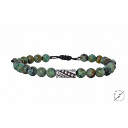 Ανδρικό βραχιόλι African Turquoise VRA00437