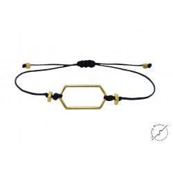 Βραχιόλι Minimal bl  VR00574