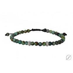 Ανδρικό βραχιόλι African Turquoise VRA00431