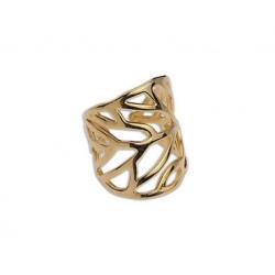 Δακτυλίδι Plex A gold  DA0006