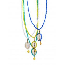 Κολιέ Boho shell colours  KL00556