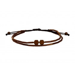 Βραχιόλι Hematite copper  VR00655