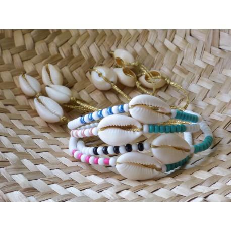 Βραχιόλι χειροποίητο Shell colours VR00672