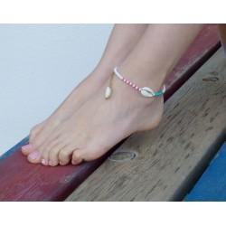 Βραχιόλι ποδιού / Anklet bracelet Seashell  AB0005