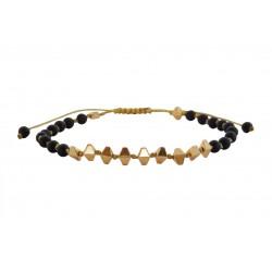 Βραχιόλι χειροποίητο Hematite gold - wh VR00673