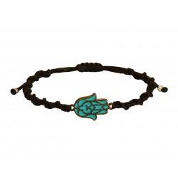 Ανδρικό βραχιόλι Yin Yang black VRA00588