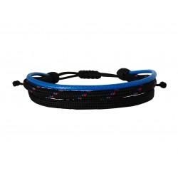 Ανδρικό βραχιόλι 3seiro cords  VRA00613