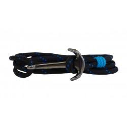 Ανδρικό βραχιόλι Anchor gunmetal  VRA00630